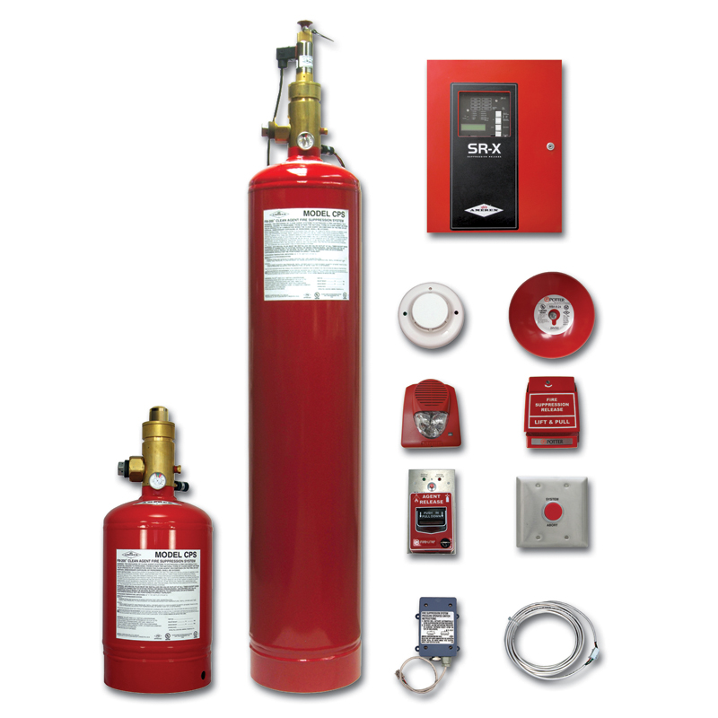 amerex fm 200 clean agent fire suppression system abc fire s